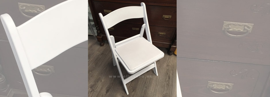 Silla London Blanca